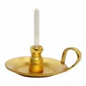 Kerzenständer mit Kerze - miniature