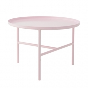 Bloomingville Pretty Coffee Table, Metal, Blush