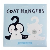 Coat Hangers Penguin&Polar Bear - A litte lovely company