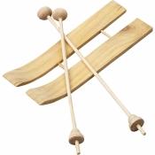 1. Ski + Stöcke Miniature