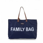 FAMILY BAG NAVY/WEISS