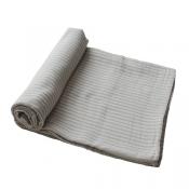 Muslin Swaddle extra soft - sage stripe