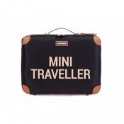 Koffer Mini Traveller - schwarz/gold