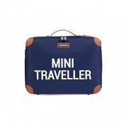 Koffer Mini Traveller - navy/weiss
