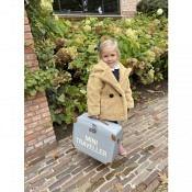 Koffer Mini Traveller - grau/altweiss