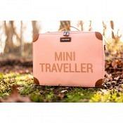 Koffer Mini Traveller - rosa/kupfer