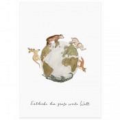Postkarte: Weltentdecker