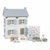 Kinder Holz Puppenhaus 20-teilig / Little Dutch